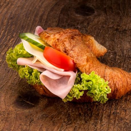 Croissant šunka-sýr